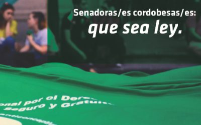 Senadorxs #QueseaLey