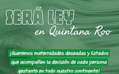 Será Ley en Quintana Roo