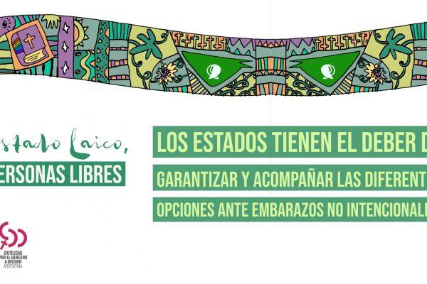 Poster Estado Laico - 2