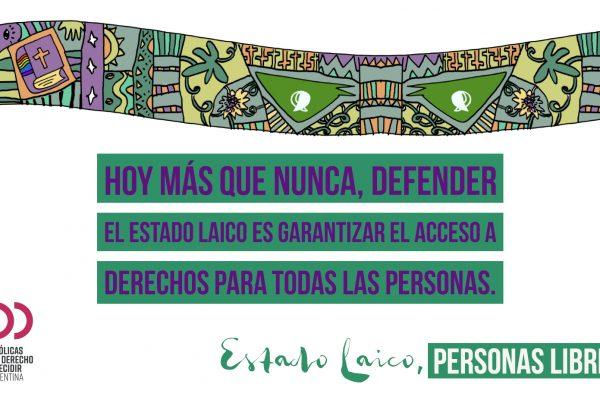 Poster Estado Laico - 3